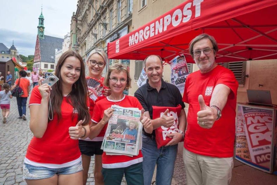 Die MOPO war in diesem Jahr mittendrin beim Zwickauer Stadtfest.