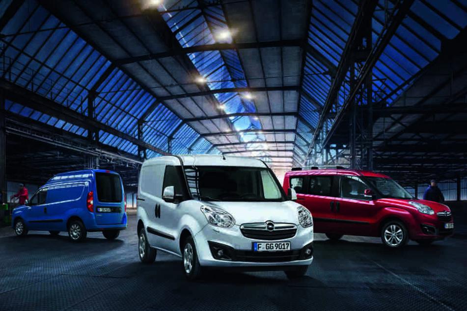 Der Opel Combo überzeugt mit geräumigem Laderaum und erstklassiger Nutzlastkapazität.