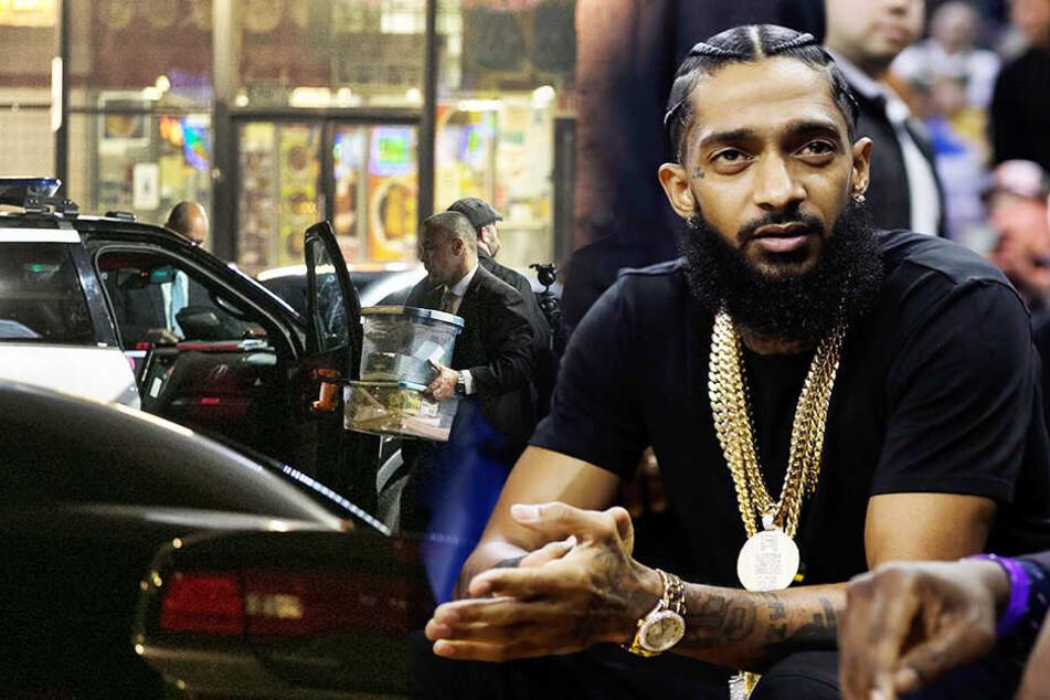 Mahnwache für erschossenen Rapper endet in Massenpanik