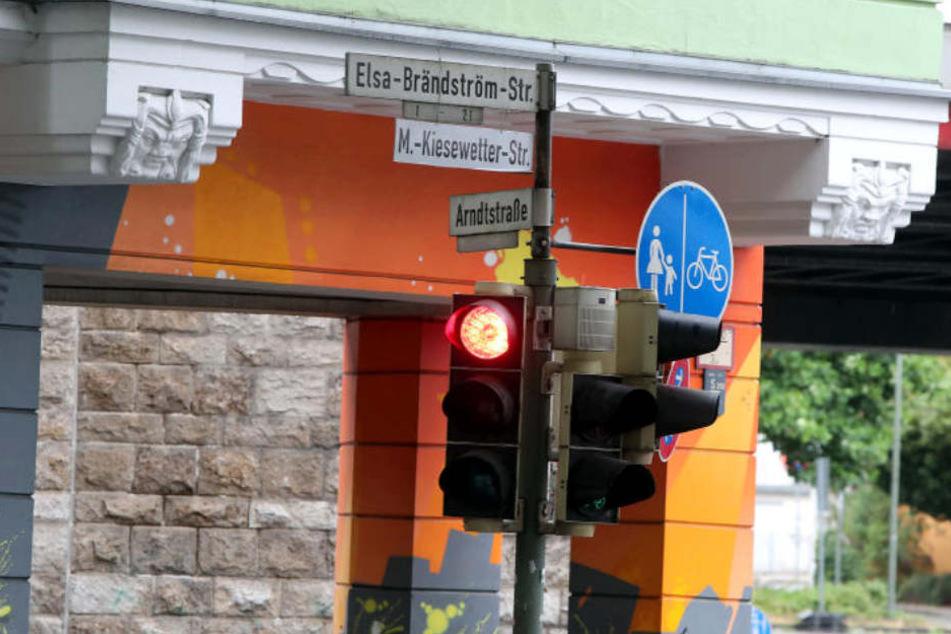 Auch die Elsa-Brändström-Straße wurde von den Aktivisten umbenannt.