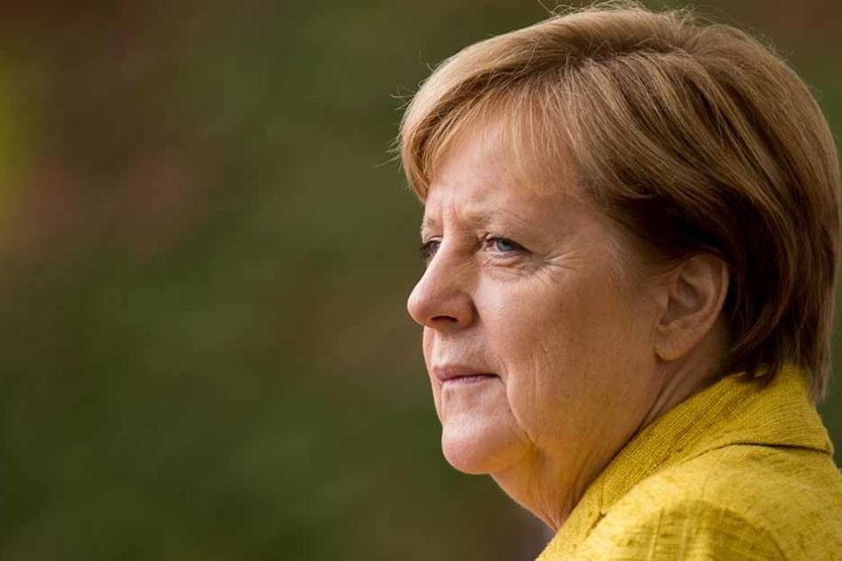 Auch sie nimmt an der Beisetzung von Heiner Geißler teil: Bundeskanzlerin Angela Merkel.