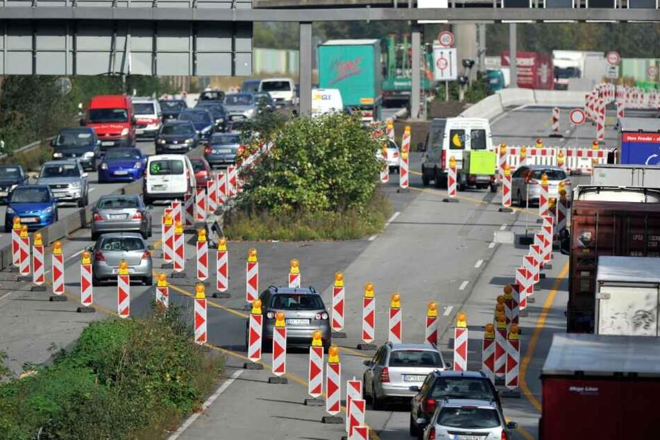 Auch einige Autobahnverbindungen werden zeitweise dicht gemacht. (Symbolbild)