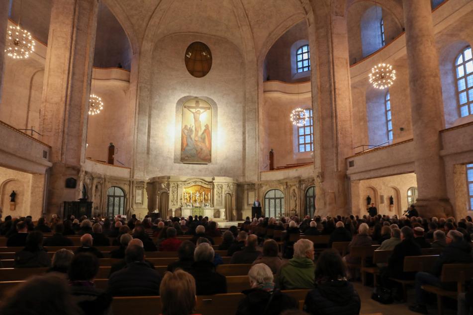 In der Kreuzkirche können trotz Abstandsregelung 841 Hope-Gäste dem Jubiläumskonzert beiwohnen.