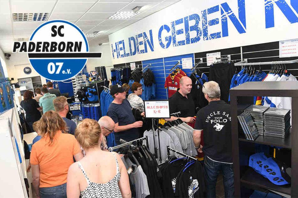 Nach Aufruf von Präsident Finke: SCP-Fans gehen shoppen