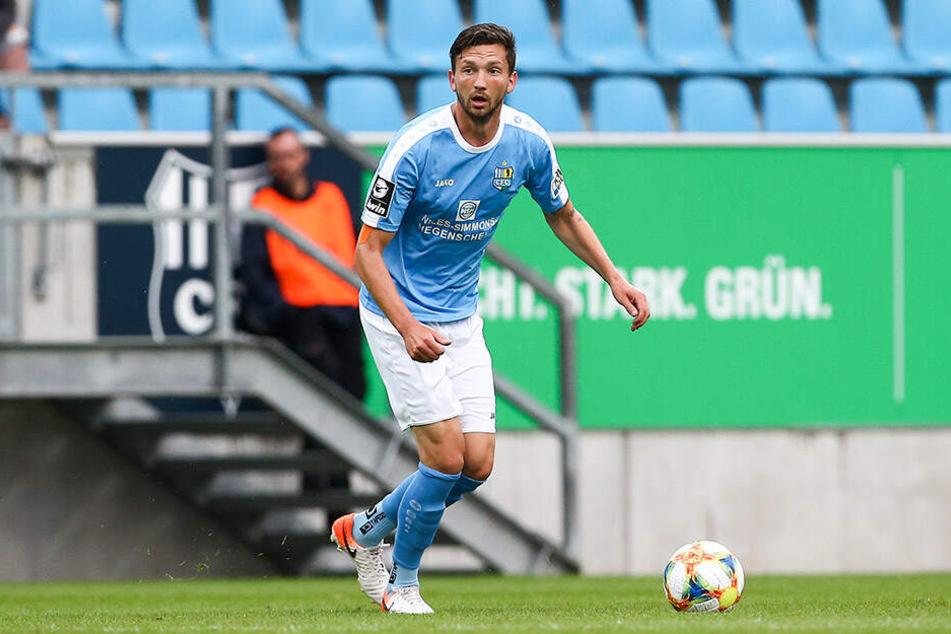 Matti Langer feiert mit dem CFC sein persönliches Comeback in der 3. Liga.