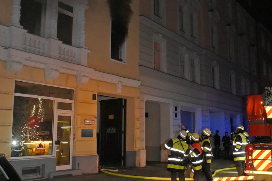 In der Westermühlstraße in München hat es in der Nacht zu Dienstag gebrannt.