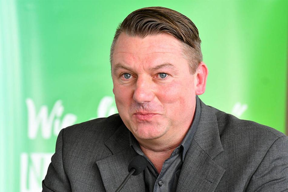 Damals und heute an der Organisation beteiligt: Dirk Mühlstädt vom städtischen Unternehmen FVG Riesa.
