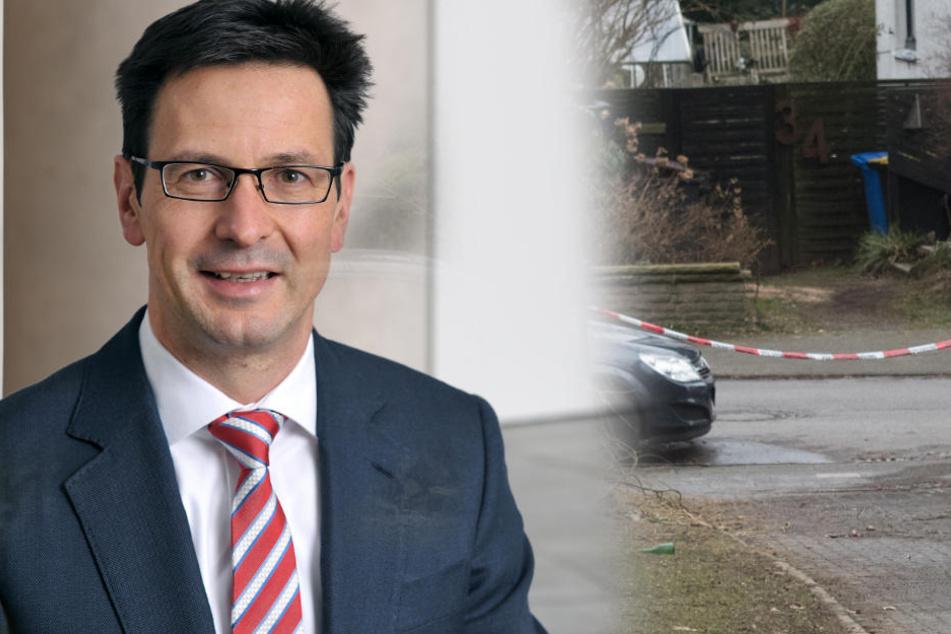 Bernhard Günther (51), Finanz-Chef bei Innogy, wurde bei dem Säure-Angriff schwer verletzt.