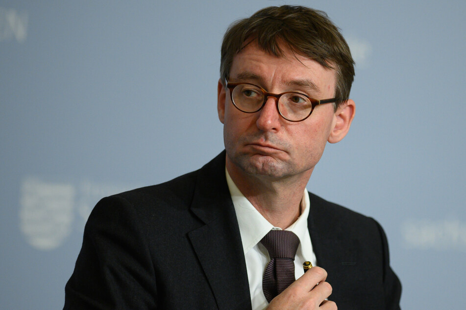 Innenminister Roland Wöller (50, CDU).