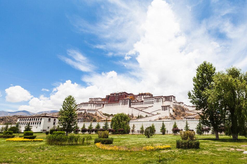 Der Potala-Palast in Tibets Hauptstadt Lhasa.