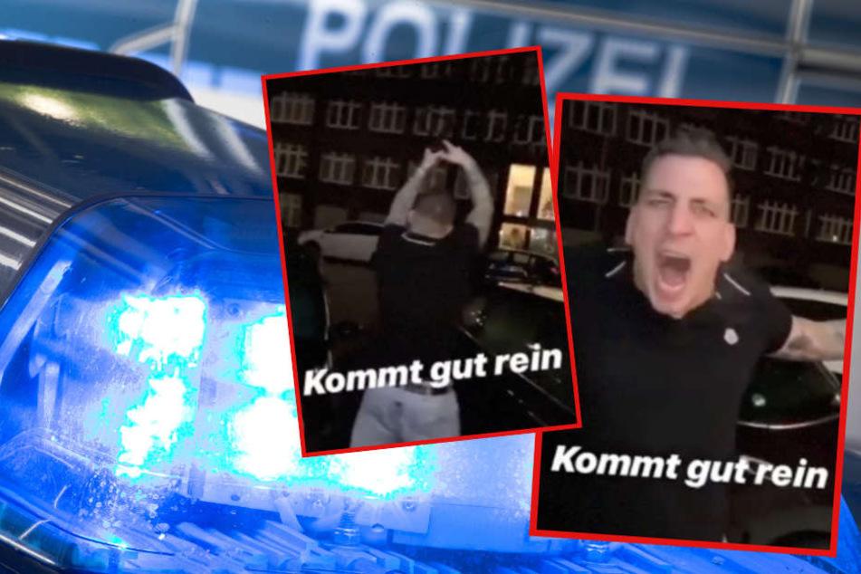 Schüsse in Eilbek: Ballert sich Gzuz mit diesem Silvester-Video zurück in den Knast?