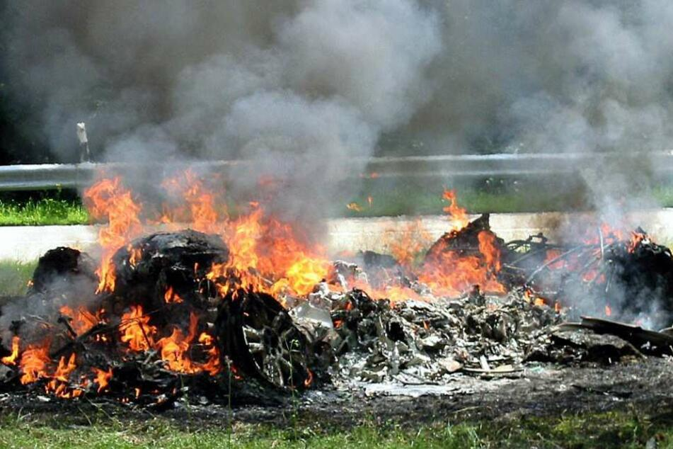 Weit mehr Unfälle in Hessen endeten dieses Jahr tödlich. (Symbolbild)