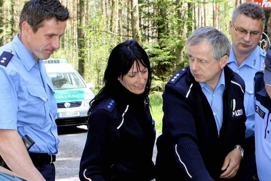 Im Karswald wurde eine Leiche entdeckt. Wer kennt diesen Mann? (Symbolbild)