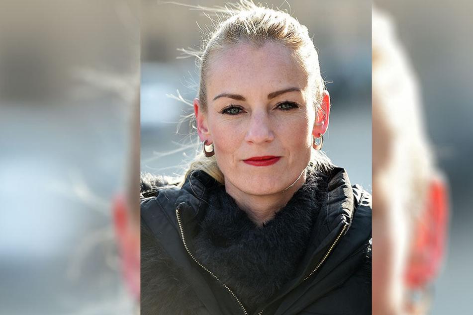 Stadträtin Kristin Sturm (33, SPD) will durch eine Rats-Initiative sicheres Baden in Leuben ermöglichen.