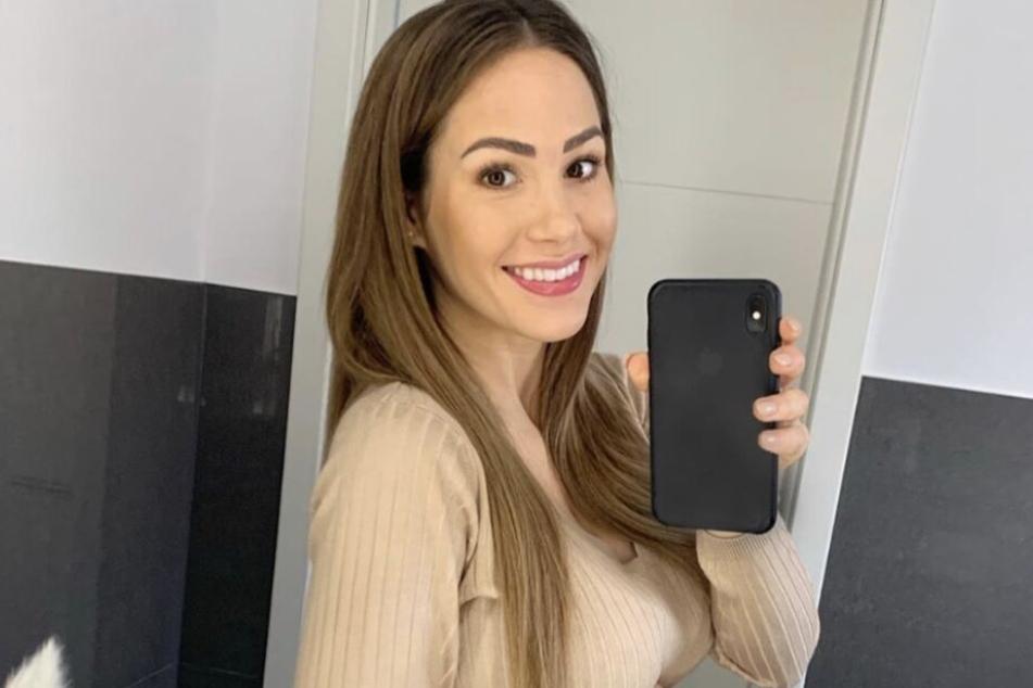 Angelina Heger (28) wehrt sich gegen fiesen Hater-Kommentare.