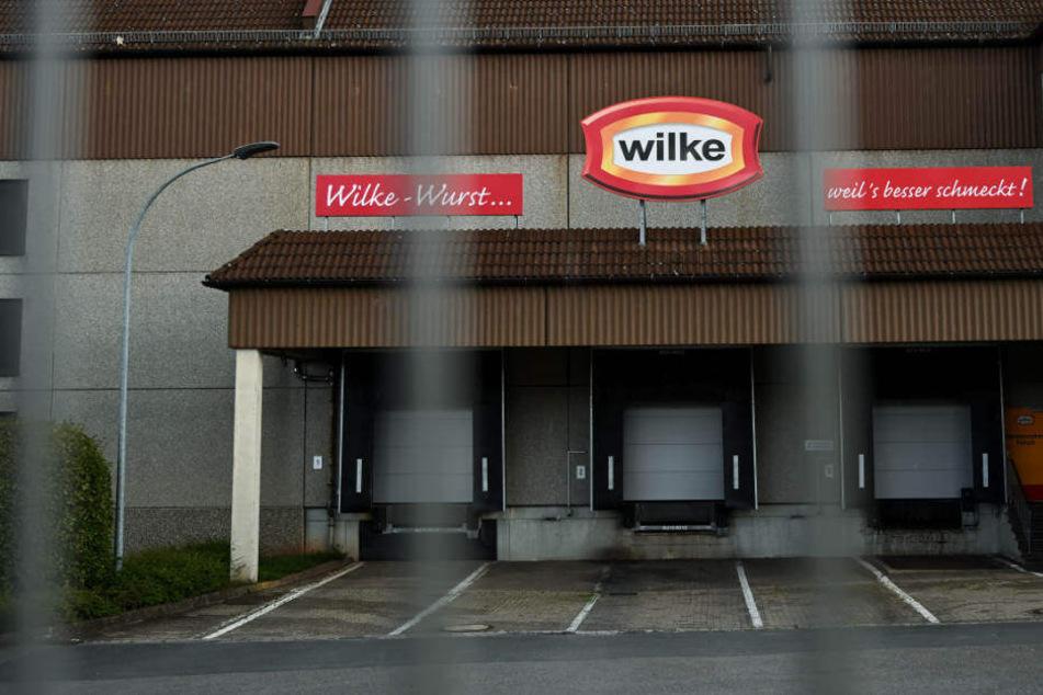 Wegen Keim-Funden wurde der Betrieb des Wurstherstellers Wilke geschlossen.