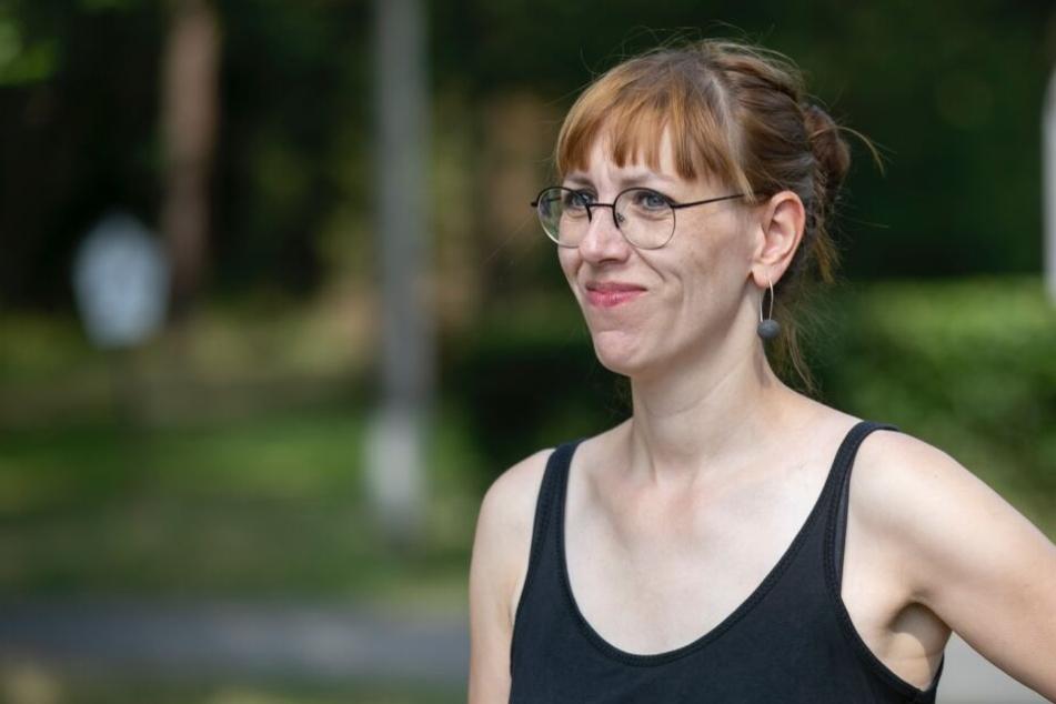Wollte konkrete Fragen zu ihrer Punkband-Zeit nicht beantworten: Justizministerin Katja Meier.