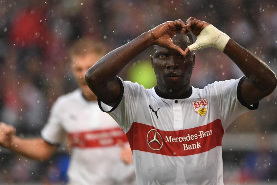 Auch er kann nicht für die Schwaben auf den Platz: Chadrac Akolo.