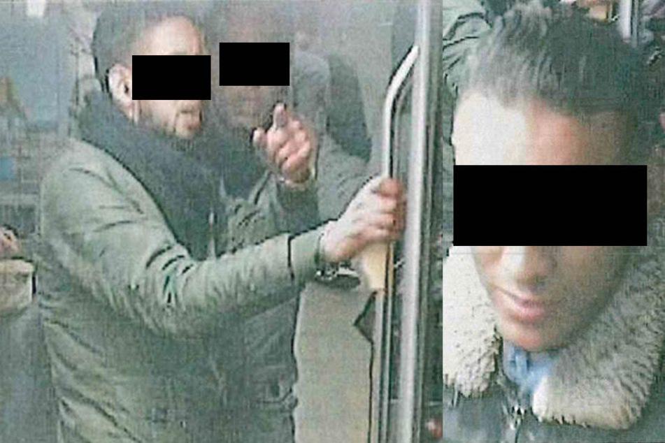 Diese drei Nordafrikaner konnten identifiziert und geschnappt werden.