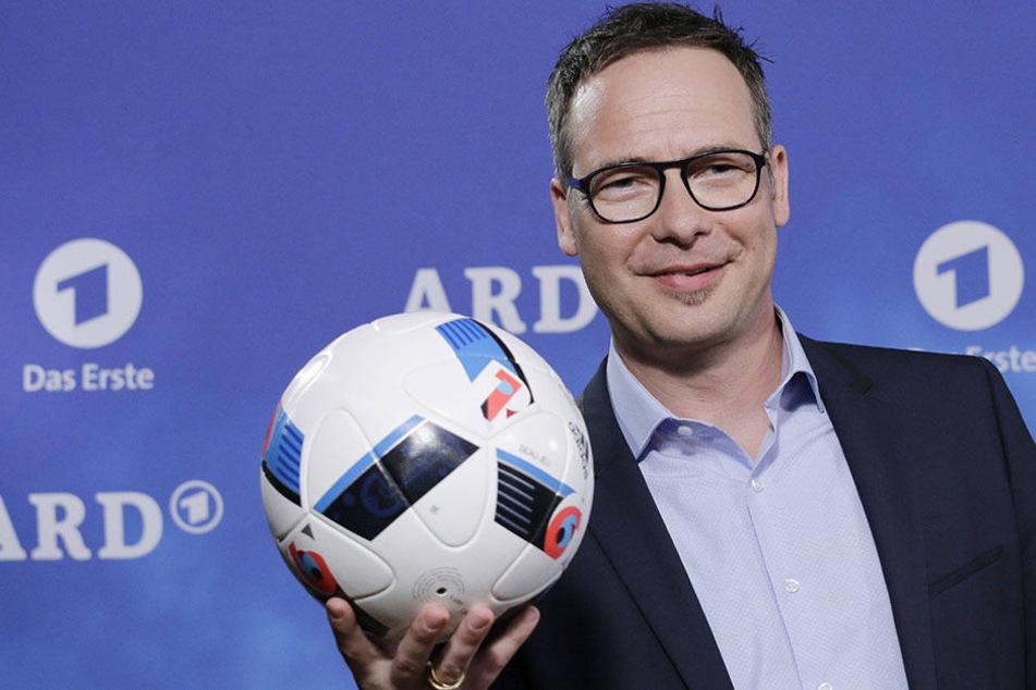 Matthias Opdenhövel (47) ist eigentlich DAS Sport-Moderatoren-Gesicht der ARD.
