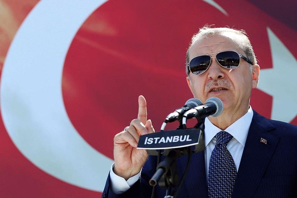 Dreht nach der Reisewarnung aus Deutschland den Spies einfach um: Präsident Recep Tayyip Erdogan.