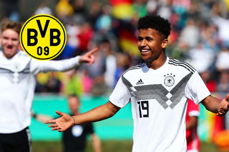 BVB vor Sturm-Verstärkung? Dortmund offenbar an deutschem Top-Talent dran