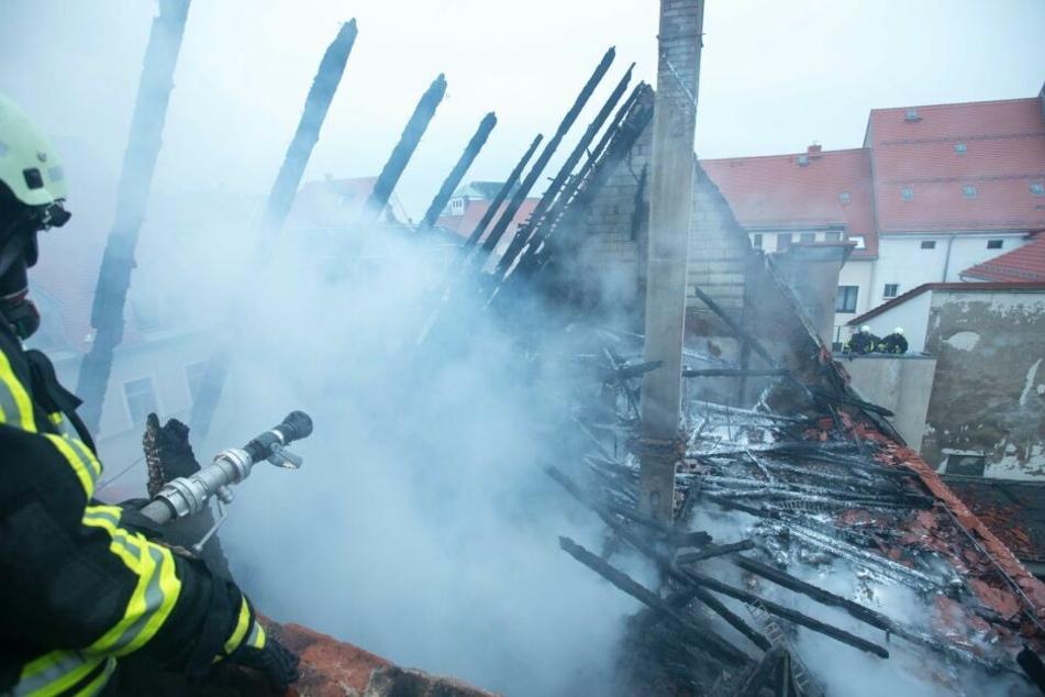 Tödlicher Brand in Freiberg: Identität der Leiche weiter unklar