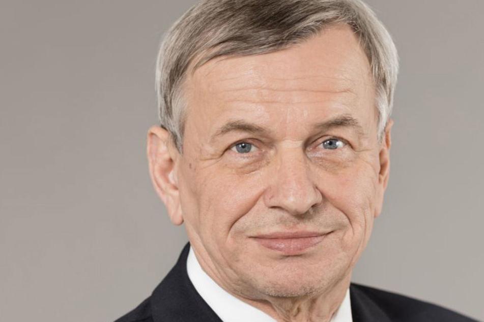 Helmut Büschke vom ADAC Sachsen.