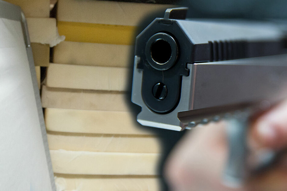Ein bewaffneter Räuber überfiel in Nordhausen ein Matratzengeschäft. (Symbolbild)