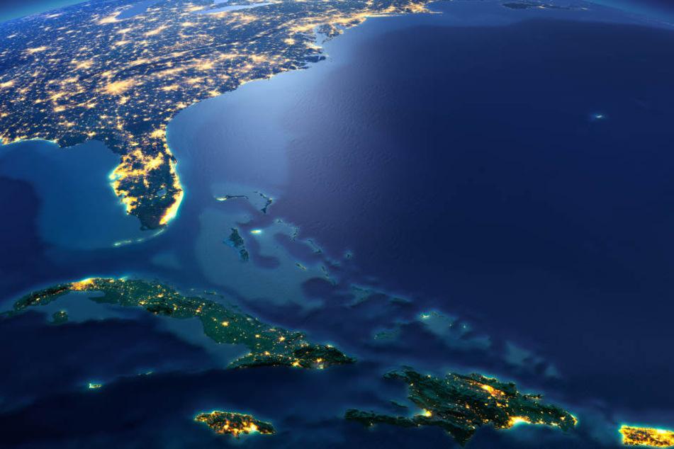 Das Bermuda-Dreieck ist ein mysteriöser Ort.
