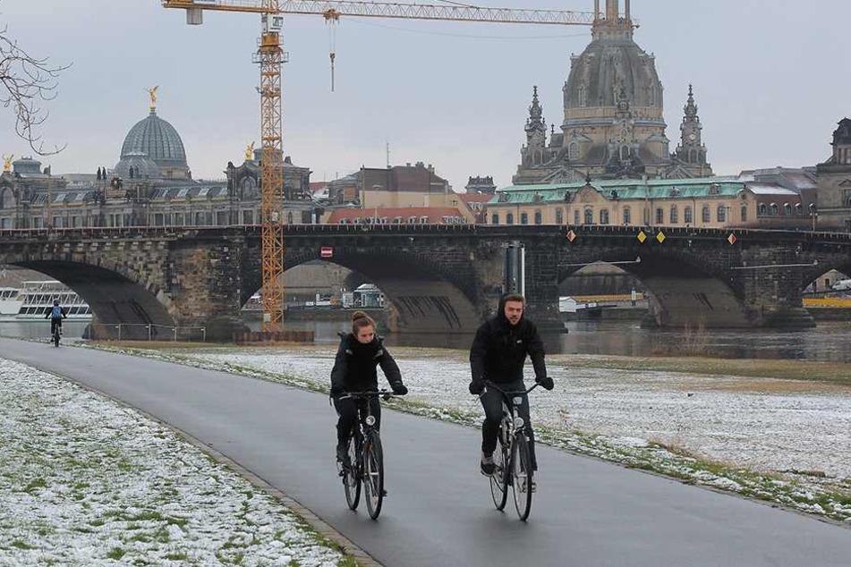 Politiker fordern Ladesäulen für E-Bikes entlang des Elberadweges.