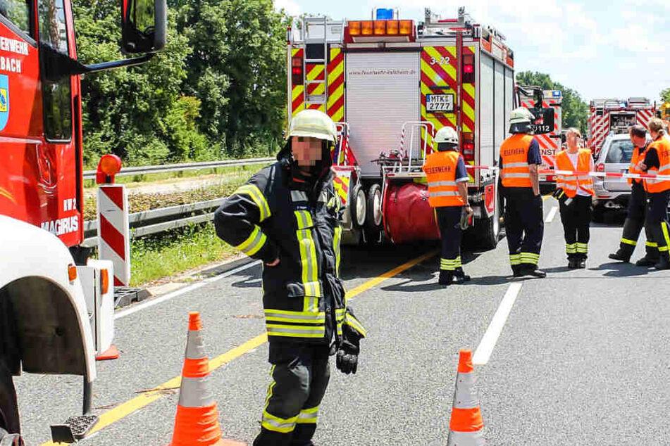 Transporter erfasst Bauarbeiter: 46-Jähriger tödlich verletzt