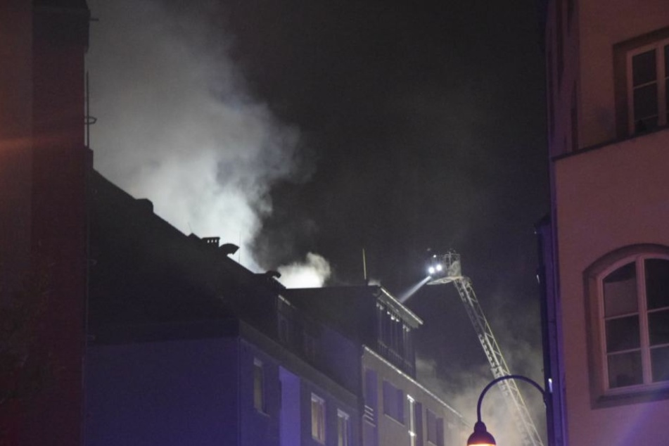 Das Haus brannte vom Erdgeschoss bis ins Dachgeschoss.