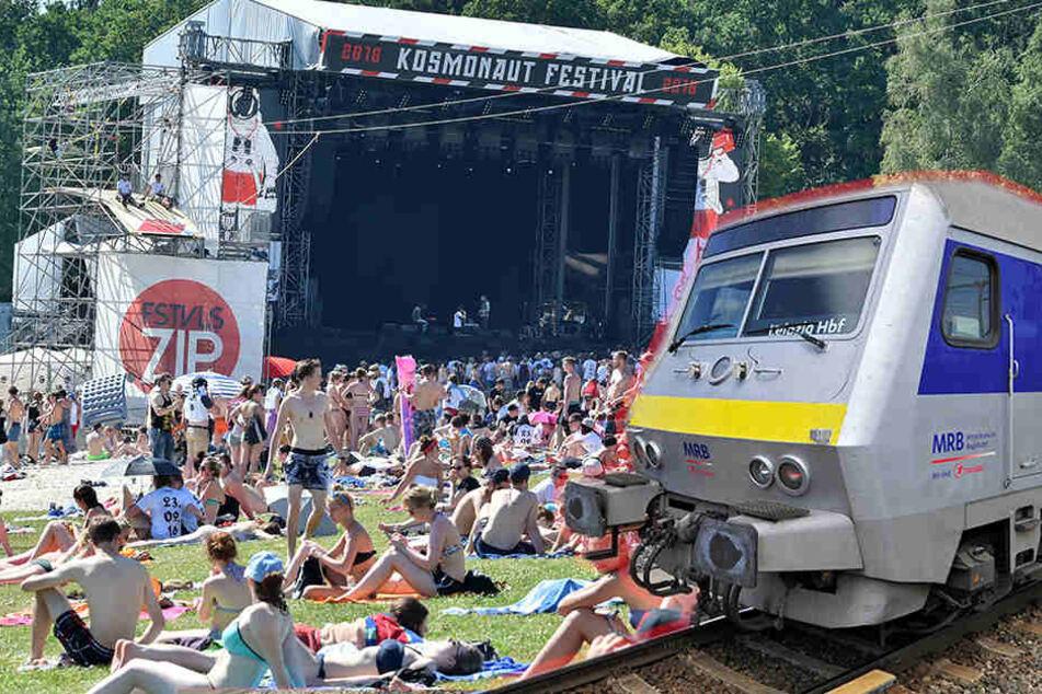 """Kosmonauten"" legen Mitteldeutsche Regiobahn lahm"