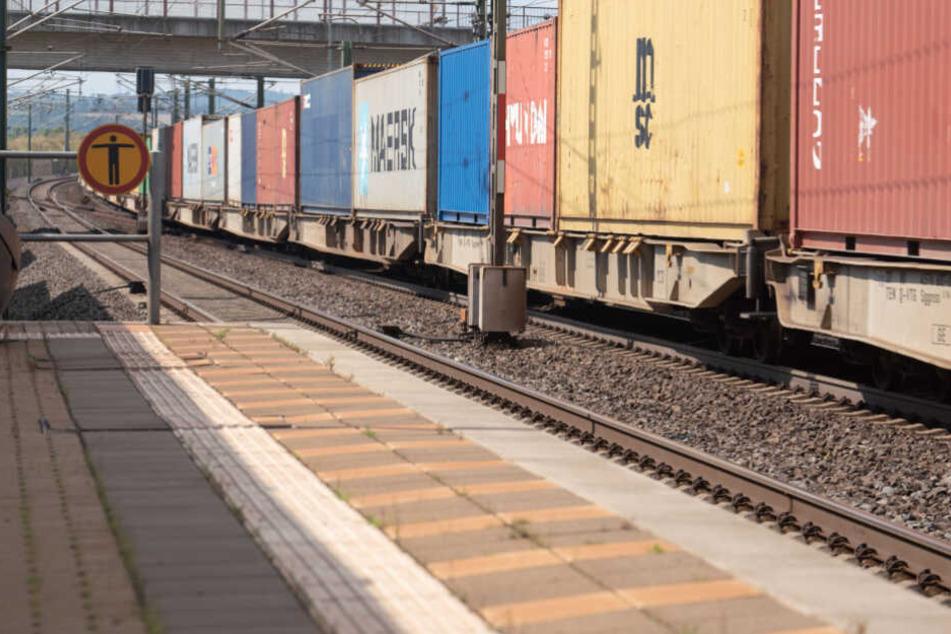 Der Zugführer versuchte noch zu bremsen (Symbolfoto).