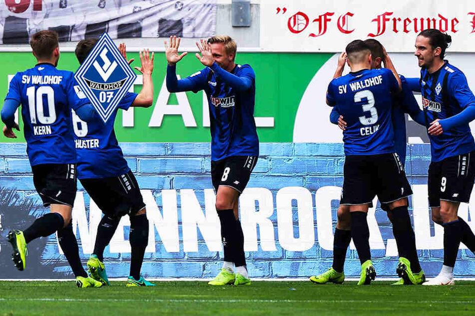 Traditionsverein Waldhof Mannheim (fast) sicher in 3. Liga aufgestiegen!