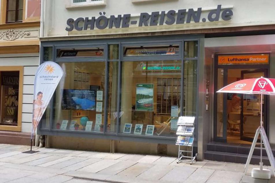 Die neue Filiale von Schöne Reisen auf der Dresdner Hauptstraße.