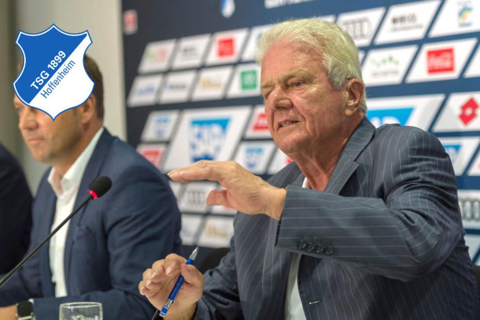 """Nach """"Fussball-Mörder""""-Plakat: Hoffenheims Hopp stellt Strafanzeige"""