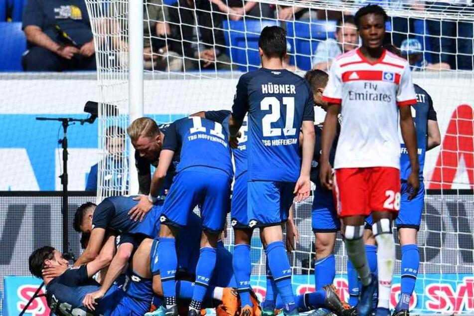 Während Hoffenheim jubelt sitzt der Frust beim HSV tief