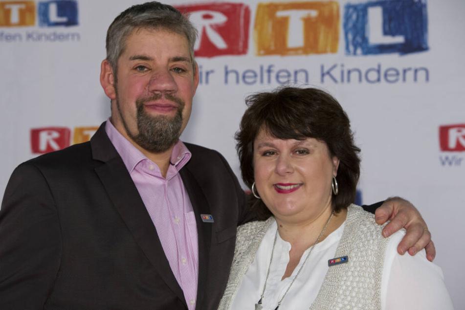 Bauer Uwe und seine Frau Iris.