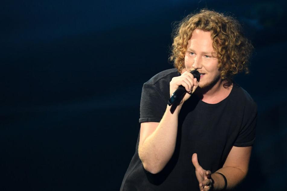 """Michael Schulte (29) erreichte mit seinem Song """"You Let Me Walk Alone"""" den vierten Platz beim Eurovision Song Contest in Lissabon (Portugal)."""