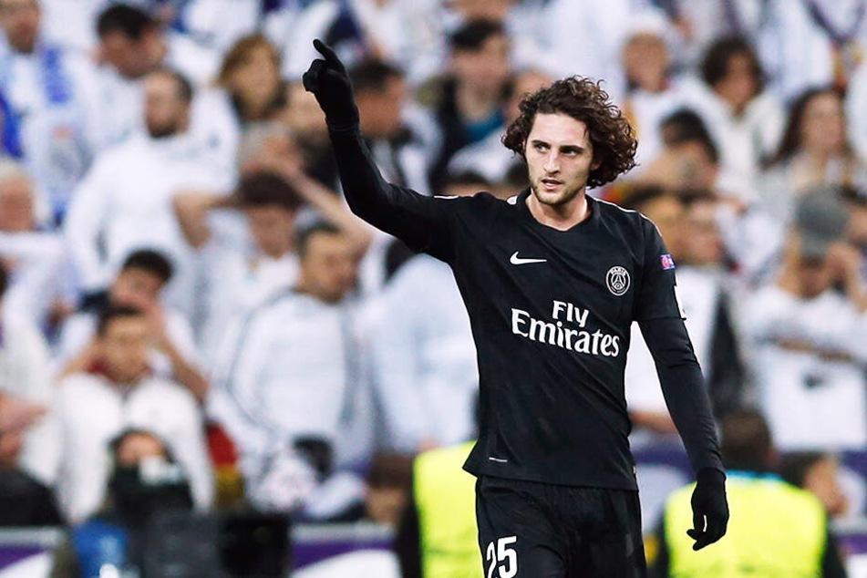 Au revoire. Adrien Rabiot verlässt Paris und wird bei Juventus Turin aller Voraussicht nach einen Vertrag über fünf Jahre unterzeichnen.