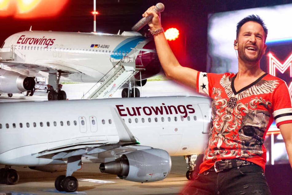 Flug gestrichen: Michael Wendler verklagt Eurowings!