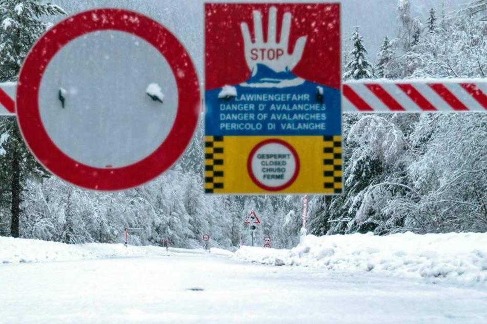 In den Chiemgauer Alpen herrscht derzeit erhebliche Lawinengefahr. (Symbolbild)