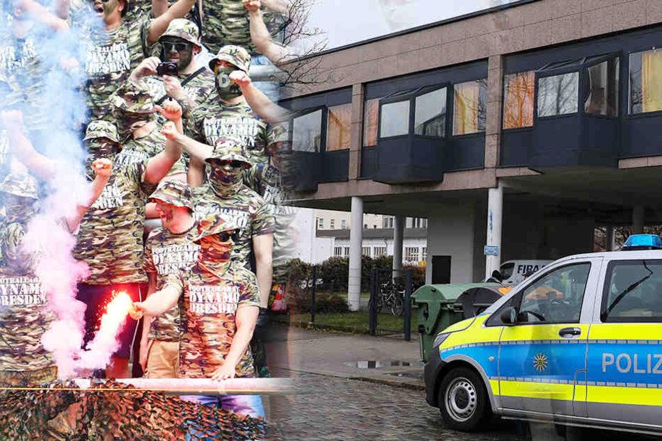 Wegen Karlsruhe! Staatsanwaltschaft durchsucht 33 Wohnungen in Fanszene von Dynamo Dresden