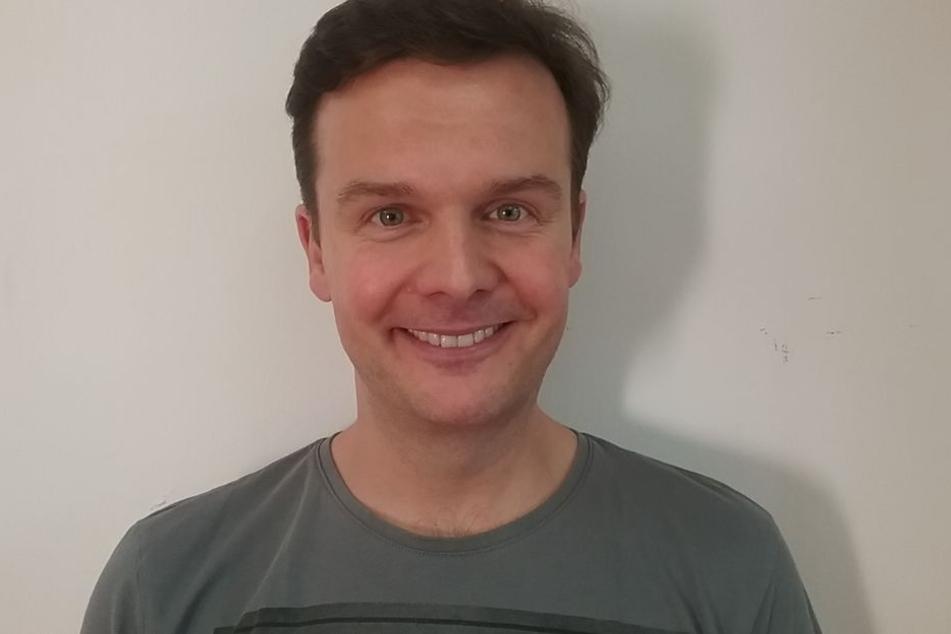 So sieht Buffo Andreas Sauerzapf (43) ganz ungeschminkt aus.