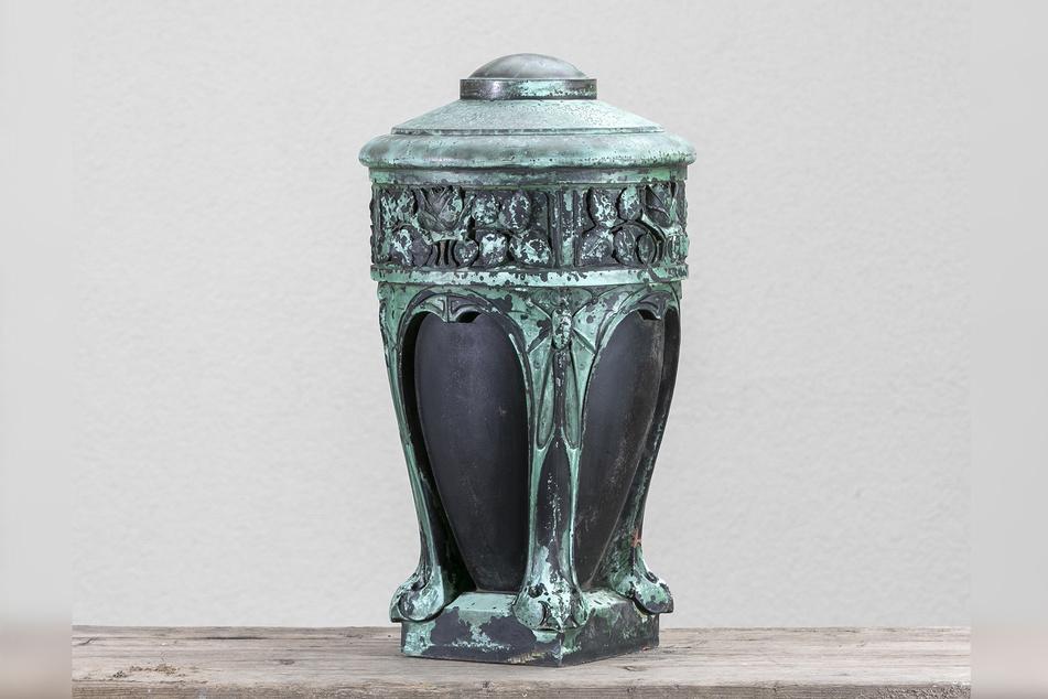 So sieht die Jugendstil- Vase aus.
