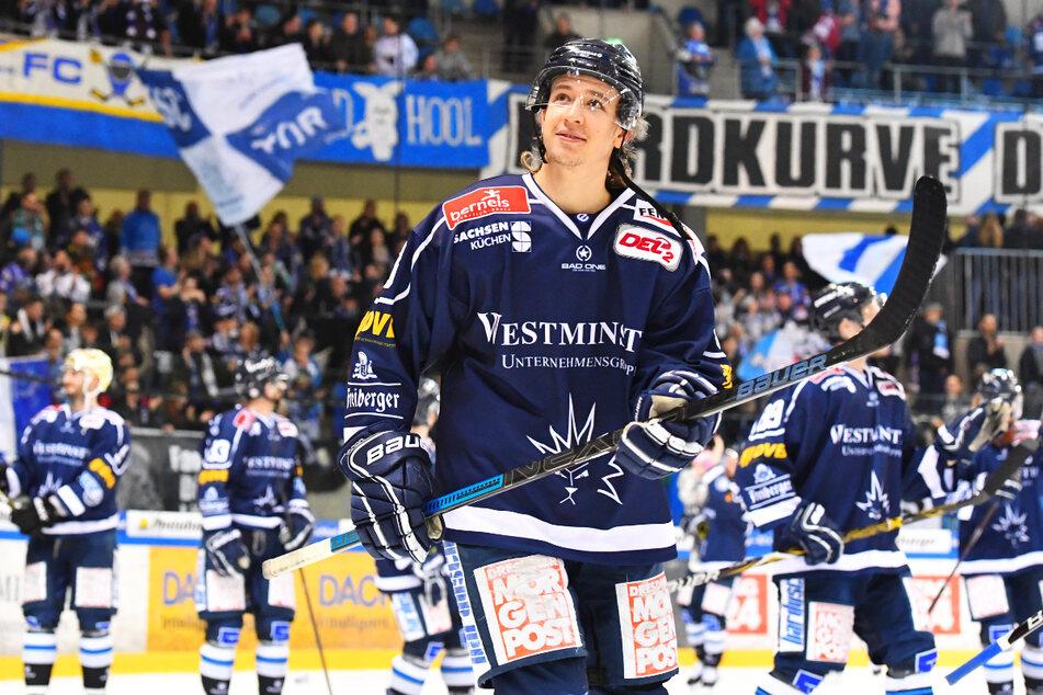 Timo Walther (23) spielte erfolgreich in Dresden und passt in System von Coach Andreas Brockmann (53). Es spricht viel für die Rückkehr des Stürmers.