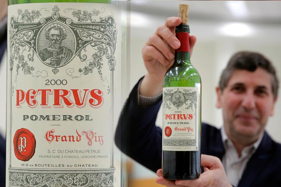 Nach mehreren Umdrehungen: Rotwein aus dem Weltall zurück