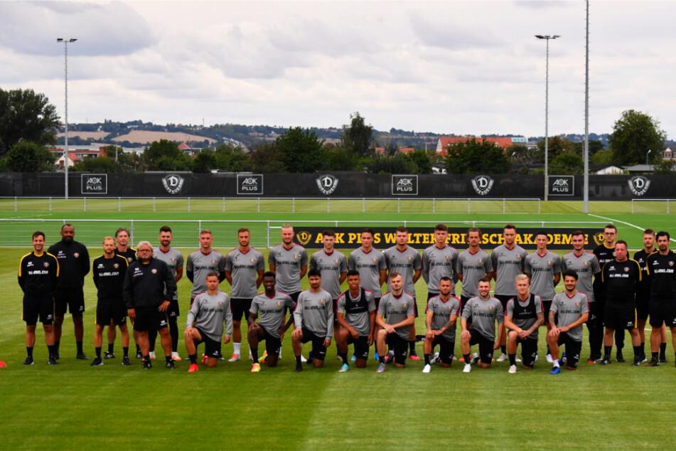 Mit 21 Spielern ist Dynamo Dresden in die Vorbereitung auf die neue Saison gestartet.